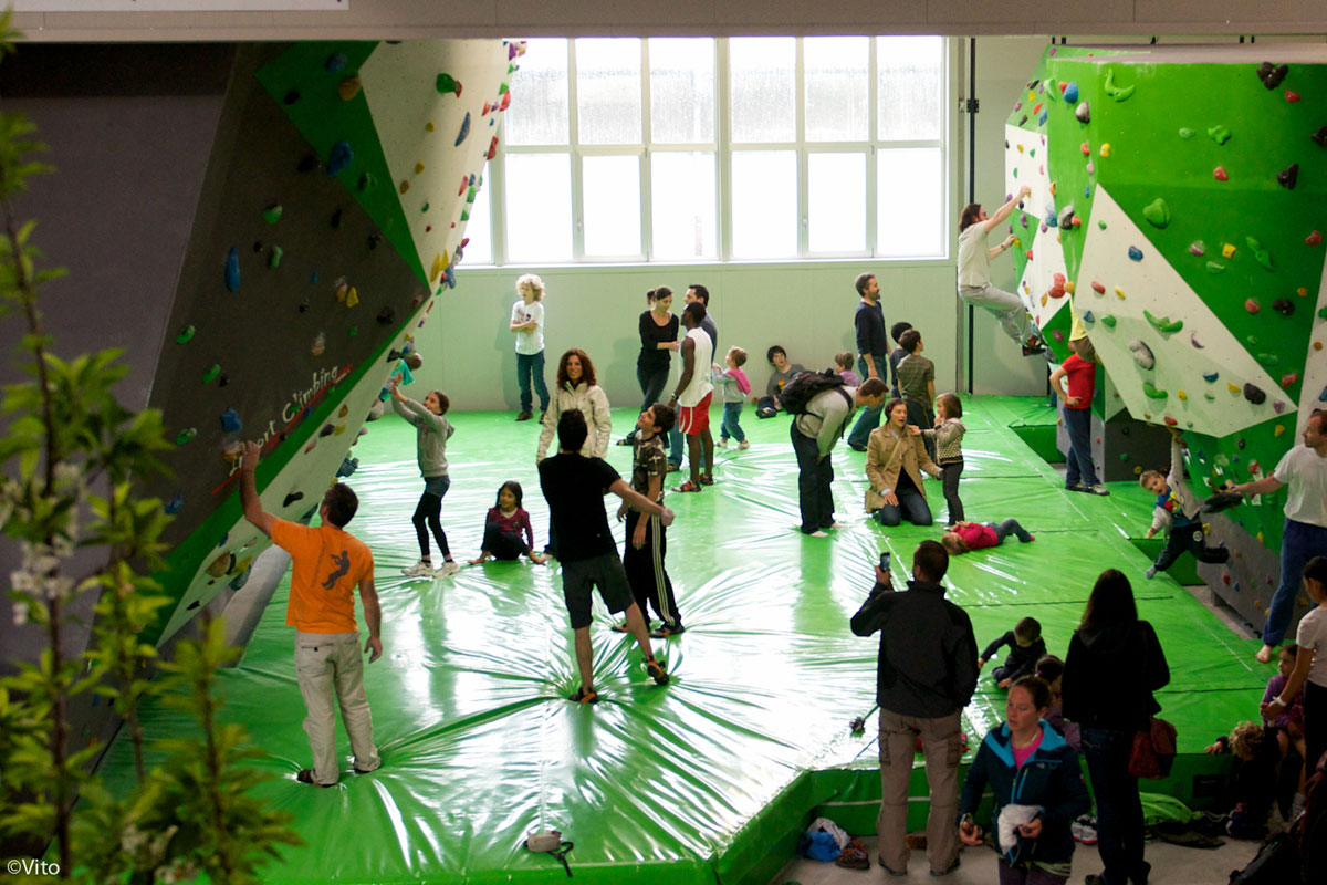 Evolution climbing center