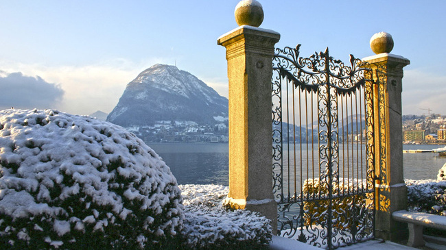 Winter Landscape Lugano